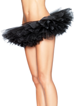 Organza  Women Tutu Black