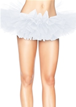 All ages Organza Women Tutu White