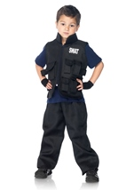 SWAT Commander Boys Police Costume