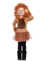 Cuddly Lion Kids Animal Halloween Costume
