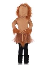 Cuddly Lion Kids Animal Halloween Costume