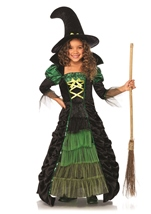 Storybook Witch Girls Halloween Costume