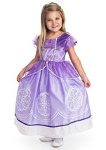 Purple Amulet Girls Princess Costume