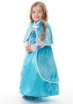 Ice Princess Girls Cloak