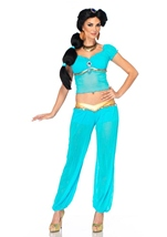 Disney Princess Jasmine Woman Sassy Arabian Costume