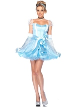 Disney Princess Cinderella Glass Slipper Woman Deluxe Costume