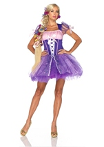 Disney Princess Rapunzel Woman Fairy Tale Costume