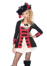 Pretty Pirate Captain Halloween Costume