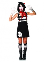 Miss Mime Tween Girl Funny Costume