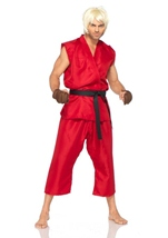 Ken Men Street Fighter Costume