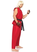 Adult Ken Men Street Fighter Costume