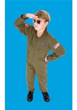 Airforce Fighter Pilot Boys Costume
