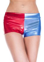 Red Blue Woman Short
