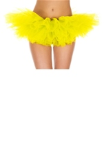 Tutu Neon Yellow Adult