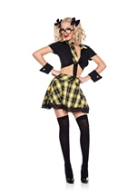 Detention Hottie yellow Woman Costume