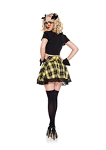 Adult Detention Hottie yellow Woman Costume