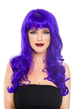 Purple Woman Wig