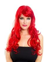 Red Woman Wig