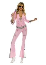 Vegas rock star Woman costume