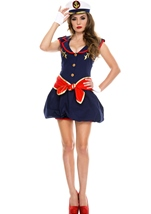 Adult Captivating Captain Woman Costume