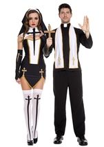 Adult Bad Habit Nun Woman Costume
