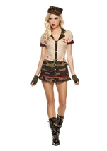 Foreign Legion Woman Costume