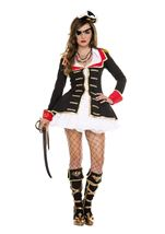 Cute Captain Woman Pirate Costume