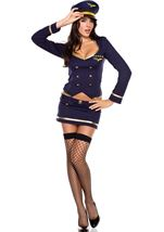 Captain Co Pilot Woman Costume