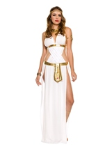 White Goddess Woman Costume