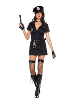 Dirty Cop Woman Costume