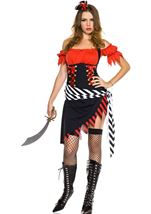 Treasure Hunt Pirate Woman Costume