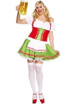 Plus Size Oktoberfest Darling Woman Costume