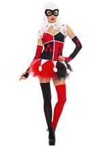 Adult Harley Jester Woman Costume
