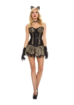 Luscious Leopard Woman Costume
