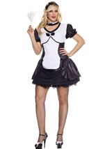 Adult Cameo Cutie Maid Plus Woman Costume