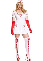 Naughty Nurse Plus Woman Costume