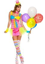Miss Clowning Around Woman Costume
