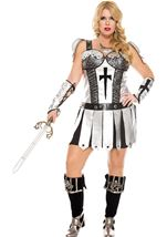 Hot Knight Plus Woman Costume