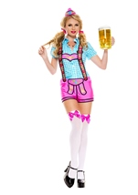 Lady Lederhosen Woman Costume