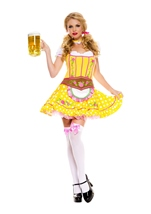 Bright Dirndl Woman Costume