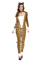 Furry Feline Woman Costume