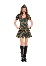 Army Brat Woman Costume