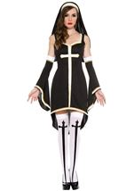 Sinfully Hot Nun Woman Costume
