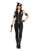 Adult Cops Bombshell Woman Police Costume