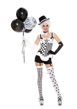 Celestial Circus Babe Woman Costume