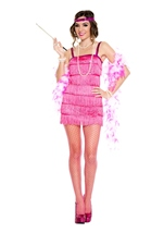 Flirtatious Flapper Woman Costume