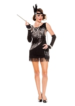 Fearless Flapper Black Woman Costume