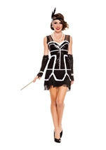 Flapper Fever Woman Costume