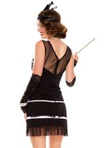 Adult Plus Size Flapper Fever Woman Costume