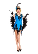 Fascinating Flapper Woman Costume
